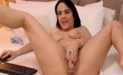 Pretty College Babe Fucking Herself With Her Toy