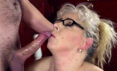 Tongued pensioner facial