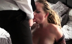 Cock sucking sub skank