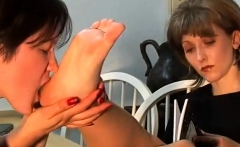 Mature Lesbian Foot Fetish