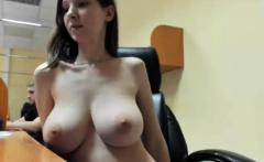 Real Crazy Public Sex. Abusing Her Big Tits