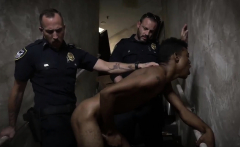 Real bottom sex and gay ebony booty porn Suspect on the Run,