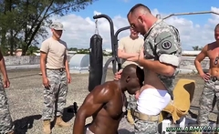 Old school gay sex man boy Staff Sergeant knows what is best