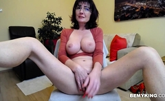 Sexy Busty Harlot Shows Off Her Awesome Body On Webcam