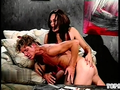 Hot Shemale Spanking With Cumshot