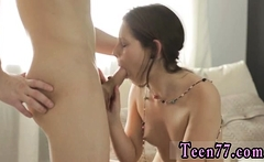 Cute young teen fucked by Tiny Yulia plumbed by dude