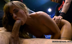 Tattooed ria sunn enjoys anal and riding with cumshots