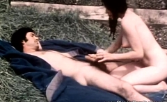 Outdoor Big Tit Retro Sex