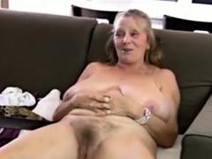 Hot Mature Striptease