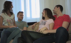 Our juicy and horny whores are craving for group-sex