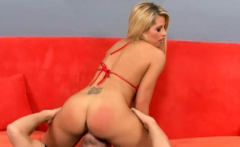 Big booty blonde Brooke is ready to be penetrated