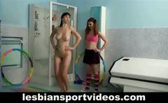 Lesbian coach seduces teen girl