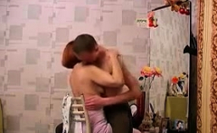 Russian Mom And Young Guy Home Sexual Affair 73