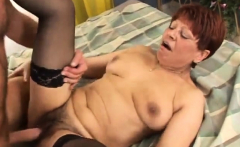 Grandma wants nothing more than a creampie