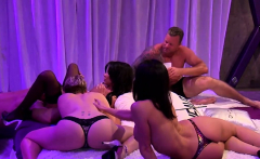 Group of nasty friends used sex toys and they liked it