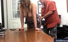 Fun with my secretary at work