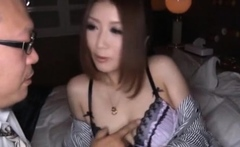 Frisky oriental mature gf Hibiki Ohtsuki fuck like a pro