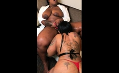 Two Fat Big Tit Amateur Lesbians Lick Mound and Boobs