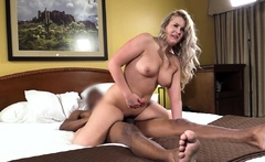 Chunky Torii Gets Big Black Cock In Her Phat Pussy