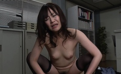 Japanese office gal, Asuka Kyono had sex, uncensored