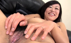 Rie Katano Hairy Japanese Milf Pussy Drilled And Creampied