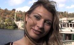 Slender blonde Kristy Lust shows engulfing skills