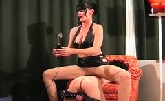 Hot-tempered darling enjoys deep penetration