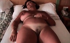 Hot big boobed nasty chubby MILF slut